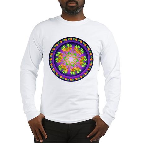 Nature Mandala Long Sleeve T-Shirt