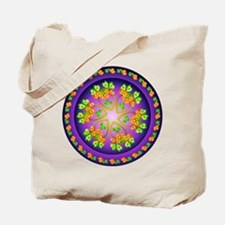Nature Mandala Tote Bag
