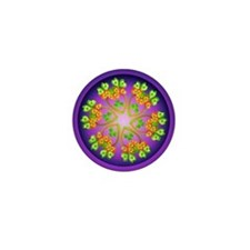 Nature Mandala Mini Button (10 pack)