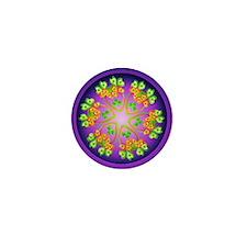 Nature Mandala Mini Button