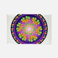 Nature Mandala Rectangle Magnet (10 pack)