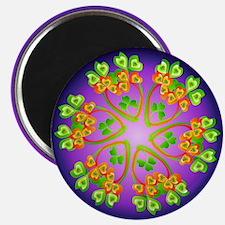 """Nature Mandala 2.25"""" Magnet (100 pack)"""
