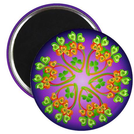 """Nature Mandala 2.25"""" Magnet (10 pack)"""