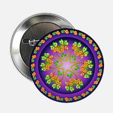 """Nature Mandala 2.25"""" Button (100 pack)"""
