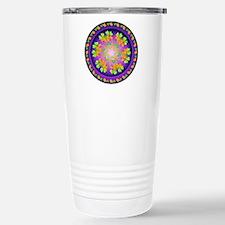 Nature Mandala Stainless Steel Travel Mug