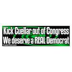 Kick Cuellar out of Congress Bumpersticker