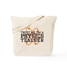 Physics Teacher Tote Bag