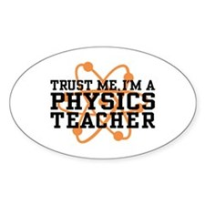Physics Teacher Decal