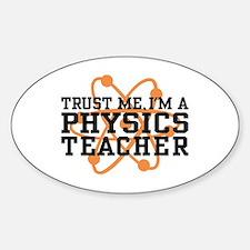 Physics Teacher Decal