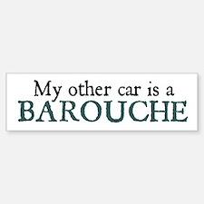 Barouche Bumper Car Car Sticker
