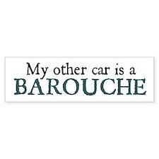 Barouche Bumper Car Sticker