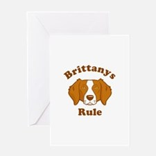 Brittanys Rule Greeting Card