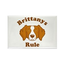 Brittanys Rule Rectangle Magnet
