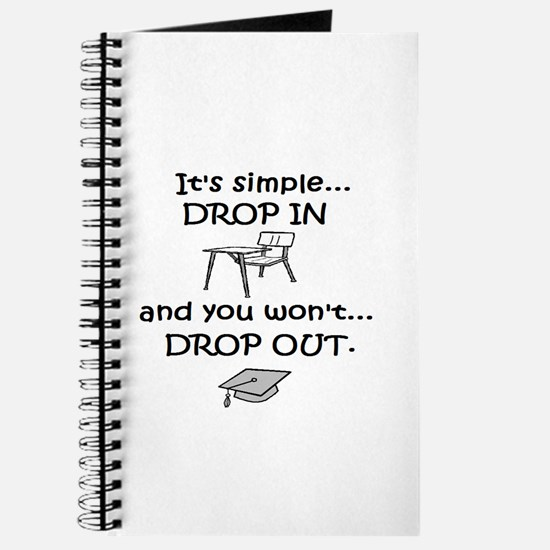 DROP IN and you won't DROP OU Journal