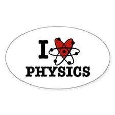 I Love Physics Decal