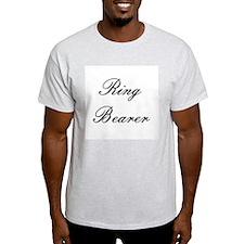 Ring Bearer Embassy Formal Ash Grey T-Shirt