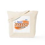 laser tazer razor Tote Bag