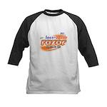 laser tazer razor Kids Baseball Jersey