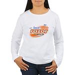 laser tazer razor Women's Long Sleeve T-Shirt