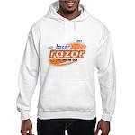 laser tazer razor Hooded Sweatshirt