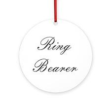 Ring Bearer Embassy Formal Ornament (Round)