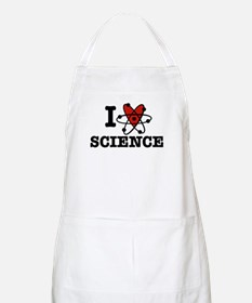 I Love Science Apron