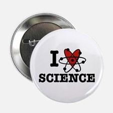"I Love Science 2.25"" Button"