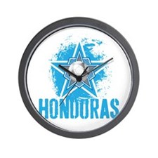HONDURAS STAR Wall Clock