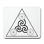 Galactic Progress Institute Emblem Mousepad