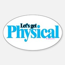 Physical Sticker (Oval)