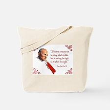PJPII - Freedom Tote Bag