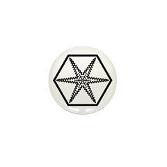 Galactic Institute of Civilized War Mini Button (1