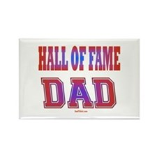 Hall of Fame Father's Day Rectangle Magnet
