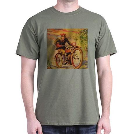 Tom Swift Motorcycle Dark T-Shirt