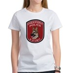 Freeport Police K9 Women's T-Shirt