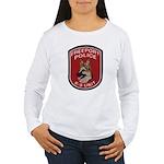Freeport Police K9 Women's Long Sleeve T-Shirt