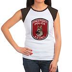 Freeport Police K9 Women's Cap Sleeve T-Shirt