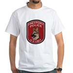 Freeport Police K9 White T-Shirt