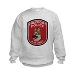 Freeport Police K9 Kids Sweatshirt