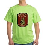 Freeport Police K9 Green T-Shirt