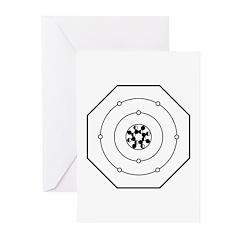 Universal Oxygen Symbol Greeting Cards (Pk of 10)