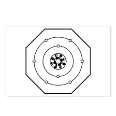 Universal Oxygen Symbol Postcards (Package of 8)