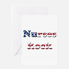 Cute School nurse day Greeting Card