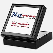 Unique Male nursing school graduate Keepsake Box