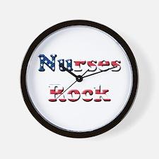Cute Nurses day Wall Clock