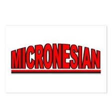 """""""Micronesian"""" Postcards (Package of 8)"""