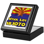 Viva Los SB1070 Keepsake Box