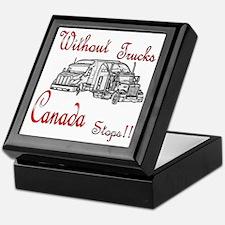Cananda Stops Keepsake Box