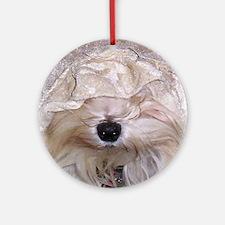 Peek  A Boo  Ornament (Round)