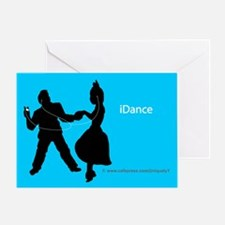 iDance Greeting Card